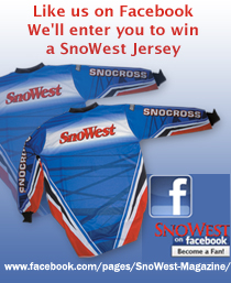 Like us on Facebook and we'll enter to win one of six SnoWest Jerseys.