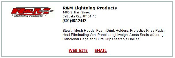 R&M Lightning Products